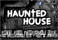 Illustration of font CF Haunted House