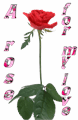 Illustration of font Rose_Heart