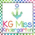 Illustration of font KG Miss Kindergarten
