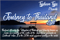 Illustration of font Journey to Thailand Light