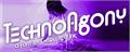 Illustration of font Techno Agony