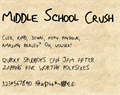 Illustration of font MiddleSchoolCrushNBP