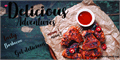 Illustration of font Delicious Adventures