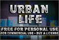 Illustration of font CF Urban Life