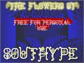 Illustration of font The Flowers St