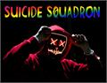 Illustration of font Suicide Squadron