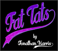 Illustration of font Fat Tats