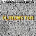 Illustration of font Elminster