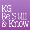 Illustration of font KG Be Still & Know
