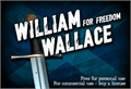 Illustration of font CF William Wallace