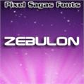 Illustration of font Zebulon