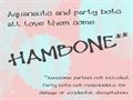 Illustration of font Hambone