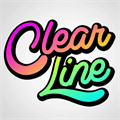Illustration of font Clear Line PERSONAL USE ONLY