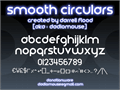 Illustration of font Smooth Circulars