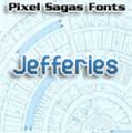 Illustration of font Jefferies