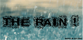 Illustration of font The Rain