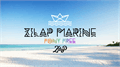 Illustration of font Zilap Marine