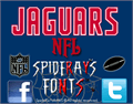 Illustration of font NFL Jaguars