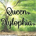 Illustration of font Queen Xylophia