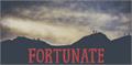Illustration of font Fortunate DEMO