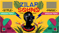 Illustration of font Zilap Sound Personal Use