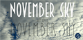 Illustration of font November Sky Demo