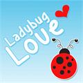 Illustration of font Ladybug Love Demo