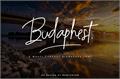 Illustration of font Budaphest