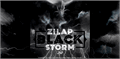 Illustration of font Zilap Black Storm