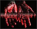 Illustration of font Blood Thirst