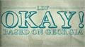 Illustration of font Okay