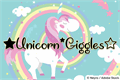 Illustration of font Unicorn Giggles