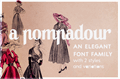 Illustration of font A Pompadour Sample