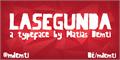 Illustration of font LaSegunda