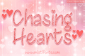 Illustration of font Chasing Hearts