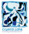 Illustration of font Crystal Lake