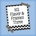 Illustration of font KG Flavor and Frames Three