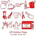 Illustration of font LCR Kitchen Dings