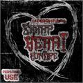 Illustration of font Sharp Heart