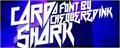 Illustration of font Card Shark