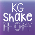 Illustration of font KG Shake it Off