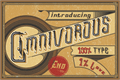 Illustration of font Omnivorous Regular 02
