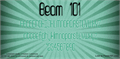 Illustration of font Beam 101