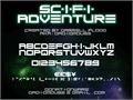Illustration of font Scifi Adventure