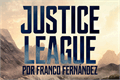 Illustration of font Justice League