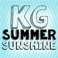 Illustration of font KG Summer Sunshine