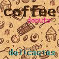 Illustration of font Choco Shop