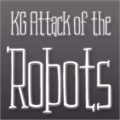 Illustration of font KG Attack of the Robots
