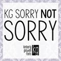 Illustration of font KG Sorry Not Sorry