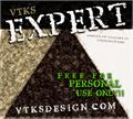 Illustration of font vtks expert